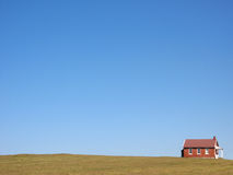 Schoolhouse. A schoolhouse sits in the Pennsylvania countryside Royalty Free Stock Photos