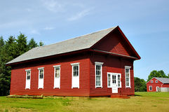 Schoolhouse. Historic new england schoolhouse in massachusetts Stock Images