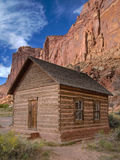 Schoolhouse. Old Schoolhouse, Fruita, Capitol Reef National Park, Utah, USA Stock Photos