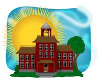 Schoolhouse Royalty Free Stock Photography