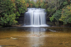 Schoolhouse Falls. Panthertown Valley, North Carolina Royalty Free Stock Photo