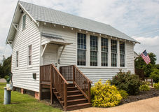 Schoolhouse Museum in Smithfield Virginia Royalty Free Stock Photo