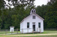 Schoolhouse at Stonefield Royalty Free Stock Photos