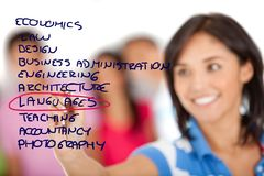 Schooling options Stock Photography