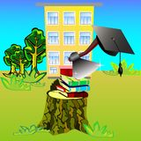 Schooling is over Royalty Free Stock Photo