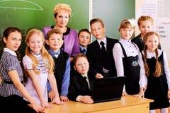 Schooljaren stock afbeelding
