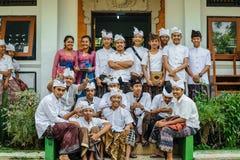 Schooljonge geitjes in Bali Royalty-vrije Stock Afbeelding