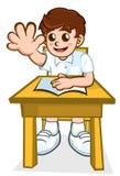 Schooljongen Stock Fotografie