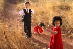 Schooljongen Stock Afbeelding