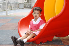Schooljongen Royalty-vrije Stock Fotografie