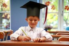 Schooljongen Royalty-vrije Stock Foto's
