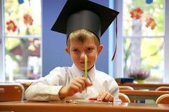Schooljongen Royalty-vrije Stock Afbeeldingen