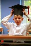 Schooljongen - timebreak Stock Afbeelding