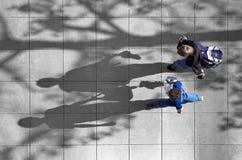 Schooljongens Stock Foto's