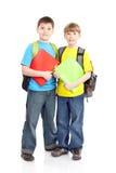 Schooljongens Stock Afbeelding