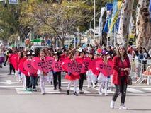 Schooljongens - deelnemers van Carnaval van Adloyada in Nahariyya, Israël Royalty-vrije Stock Afbeeldingen