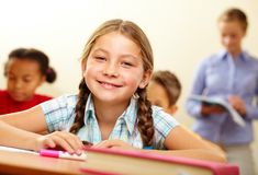 Schoolkid Royalty Free Stock Images