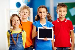 Schoolkids Royalty Free Stock Image