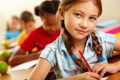 Schoolkind Stock Fotografie