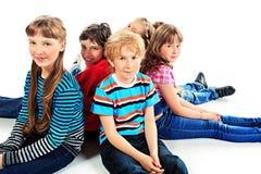 Schoolkinderen stock foto's