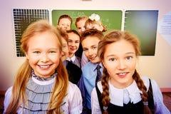 Schoolkinderen royalty-vrije stock afbeeldingen