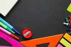 Schoollevering op bord stock foto's