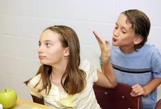 Schoolmaaltijd - Geen Manier Stock Afbeelding