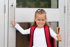 Schoolmeisje Stock Foto's