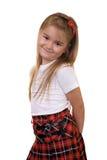 Schoolmeisje royalty-vrije stock foto