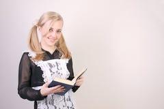 Schoolmeisje Royalty-vrije Stock Afbeeldingen