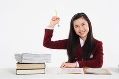 Schoolmeisje II Stock Fotografie