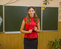 Schoolmistress Stock Photography