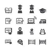 Schoolpictogram Stock Afbeelding