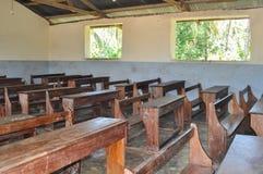 Schoolroom. Classroom of a school in africa Stock Photo