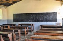 Schoolroom. Classroom of a school in africa Royalty Free Stock Photos