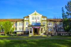 Schools boarding in Da Lat City, Vietnam. Royalty Free Stock Image