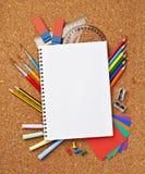 Schools items Stock Image