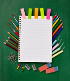 Schools items Stock Images