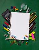 Schools items Stock Photos