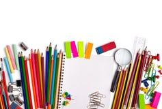 Schools items Royalty Free Stock Photos