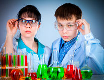 Schoolteacher and student Stock Photo