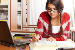 Schoolwork Royalty Free Stock Images