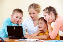Schoolwork Stock Photos