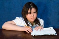 Schoolwork royalty-vrije stock foto's