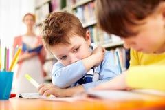 schoolwork Fotografia Stock