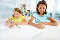 Schoolwork Royalty Free Stock Image