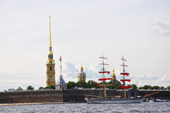 Schoon στον ποταμό Στοκ εικόνες με δικαίωμα ελεύθερης χρήσης