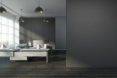 Schoon bureau met exemplaarruimte Royalty-vrije Stock Afbeelding