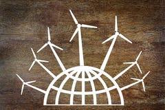 Schoon duurzame energieconcept Stock Afbeelding