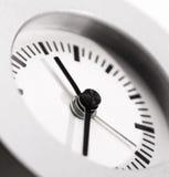 Schoon en eenvoudige klok stock afbeelding